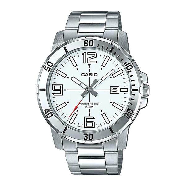 (2 YEARS WARRANTY) Casio Original MTP-VD01D-7BV Dress Analog-Gent's Watch