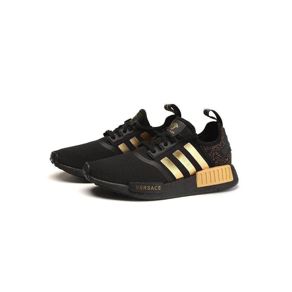 การใช้งาน  ชุมพร รองเท้า Adidas NMD CUSTOM R_1 Boost สีดำ