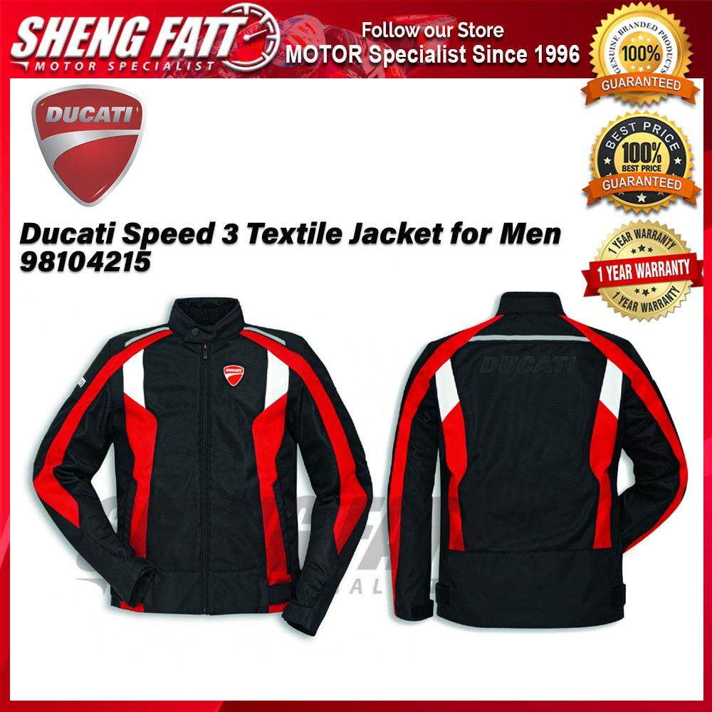 Ducati Speed 3 Textile Jacket for Men 98104215 - [ORIGINAL]