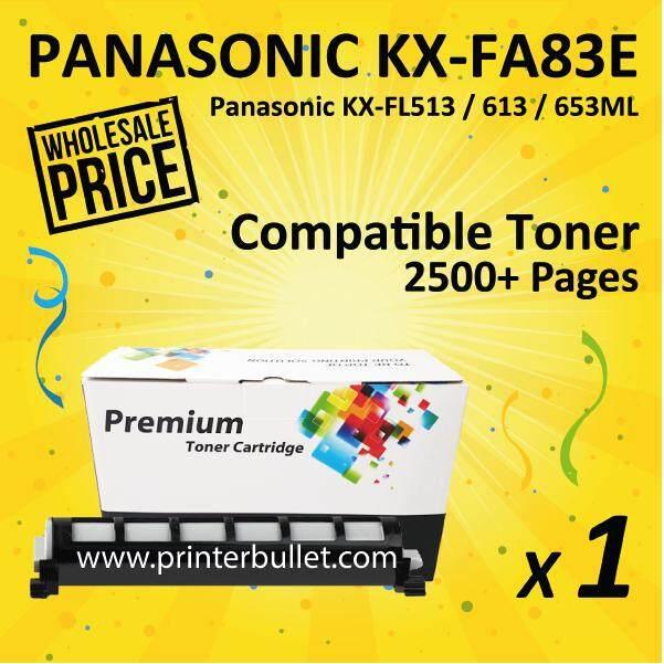 KX-FA83E Black Compatible Toner Cartridge For LKX-FL513/613/653ML Printer Toner