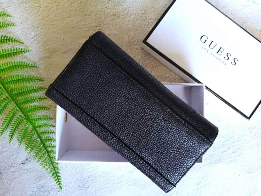 GUESS Factory Women's Abree Slim Wallet + BOX