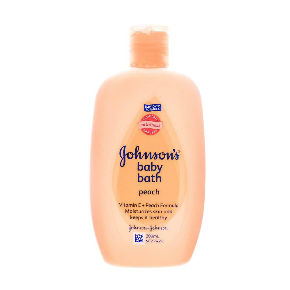 Johnson's Baby Bath Peach 200ml