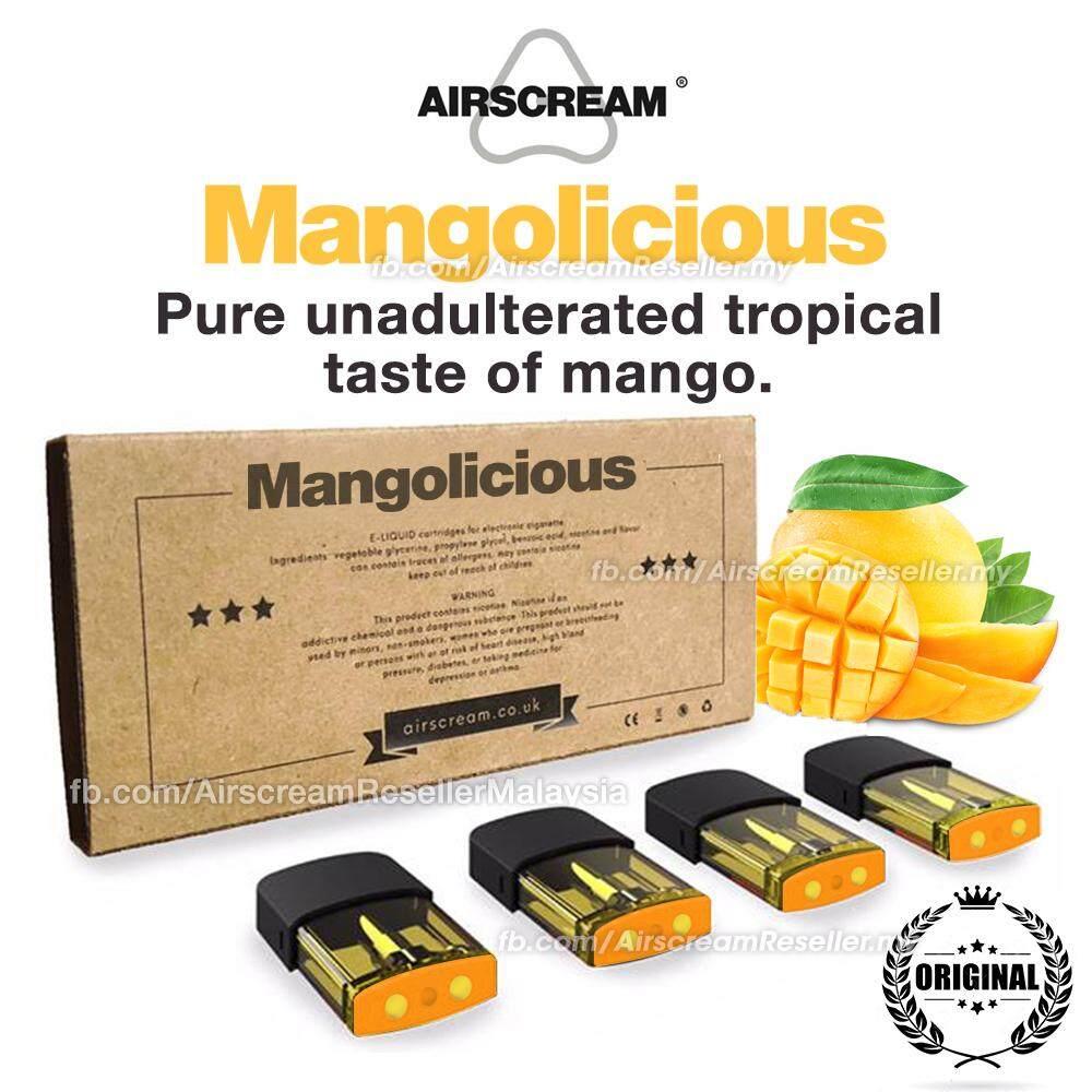 Airscream Airspops Cartridge Mangolicious Pod Flavour (4 Cartridges)