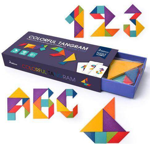 MiDeer Colorful Tangram set toys education