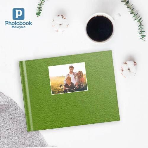 "Photobook Malaysia - 11"" x 8.5"" Medium Landscape Debossed Hardcover Photobook"