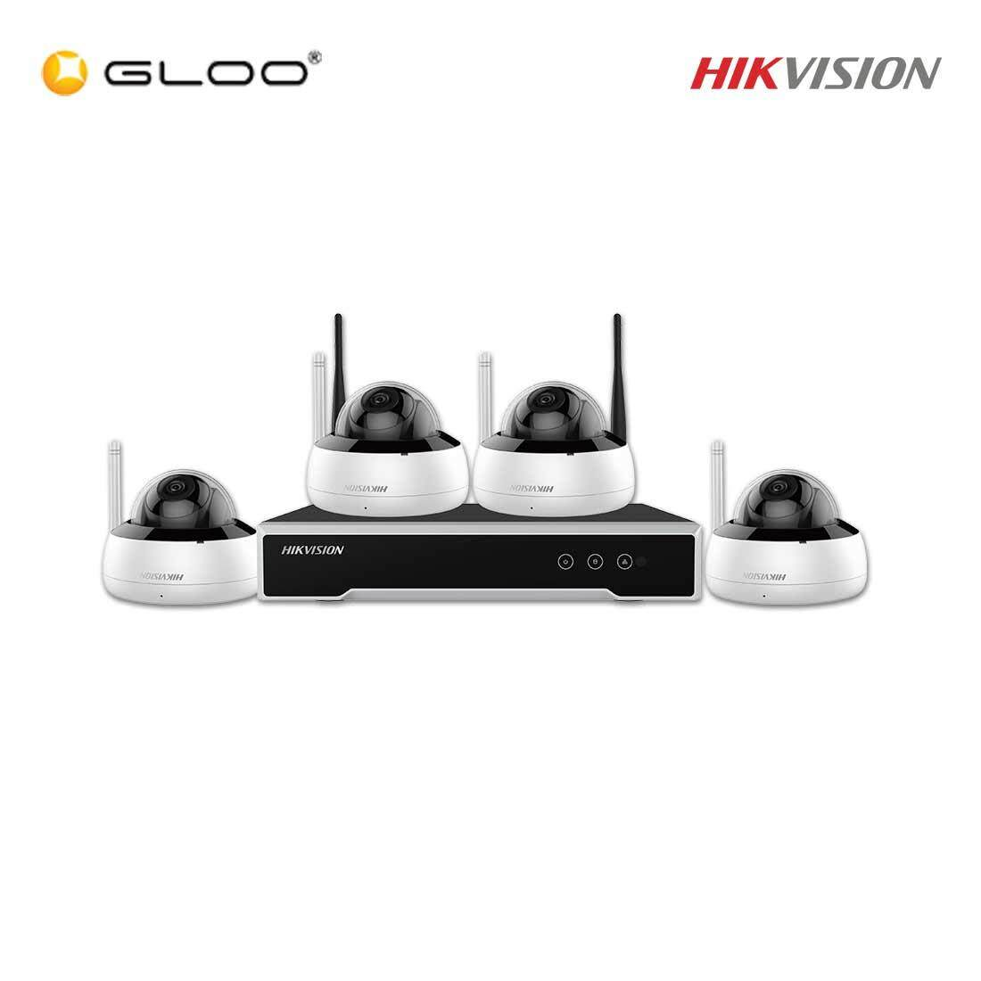 Hikvision DVR & Camera Kit NK44W1H-1T(WD) 4MP Dome CCTV Kit