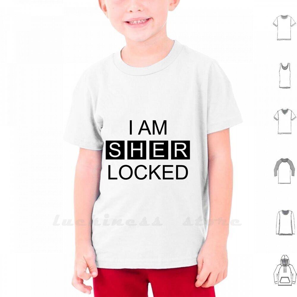 Hình ảnh Tôi Là Sherlock T Áo Sơ Mi Không Tay Tay Áo Dài Cổ Chữ V Đàn Ông Thiếu Niên Phụ Nữ 6XL Nha Sĩ Arthur Xian Doyonst Hiện Đại Hiện Đại Tối Giản Văn Bản Trắng Phong Cách Hipster Trích Dẫn Cổ Điển Hợp Thời Trang Tôi Là Sherlock Cao