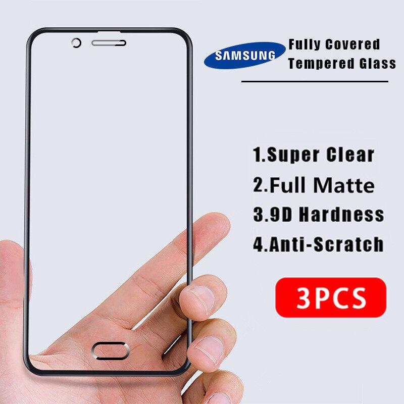 3 Chiếc Hontinga 9D Cho Samsung J2 Prime J2 Pro J3 Pro J4 Plus J4 + J4 + J5 Plus J5 Prime J5 Pro J6 PLUS J6 + J6 + J7 2017 J7 Pro J7 Plus J7 + J7 + j7 Prime 3 Chiếc Kính Cường Lực Bảo Vệ Toàn Màn Hình 9D