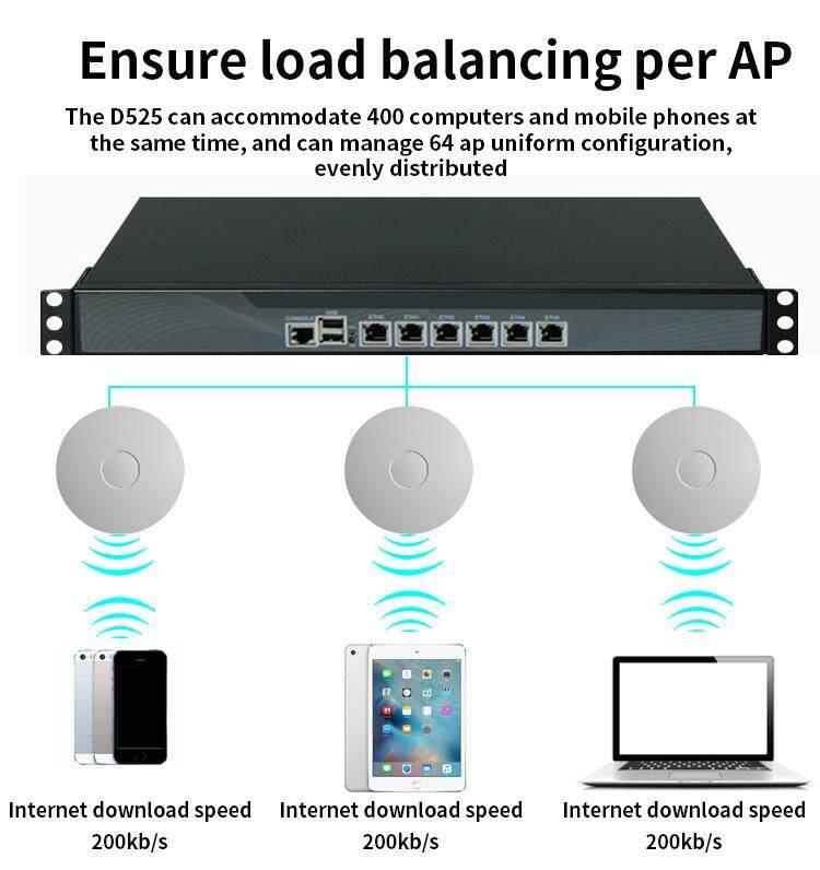 pfsense / OPNsense Firewall 6 Intel Gigabit LAN Mini PC with Intel Celeron  J1900 Quad Core PC Soft Router with 8GB DDR3L 32GB SSD