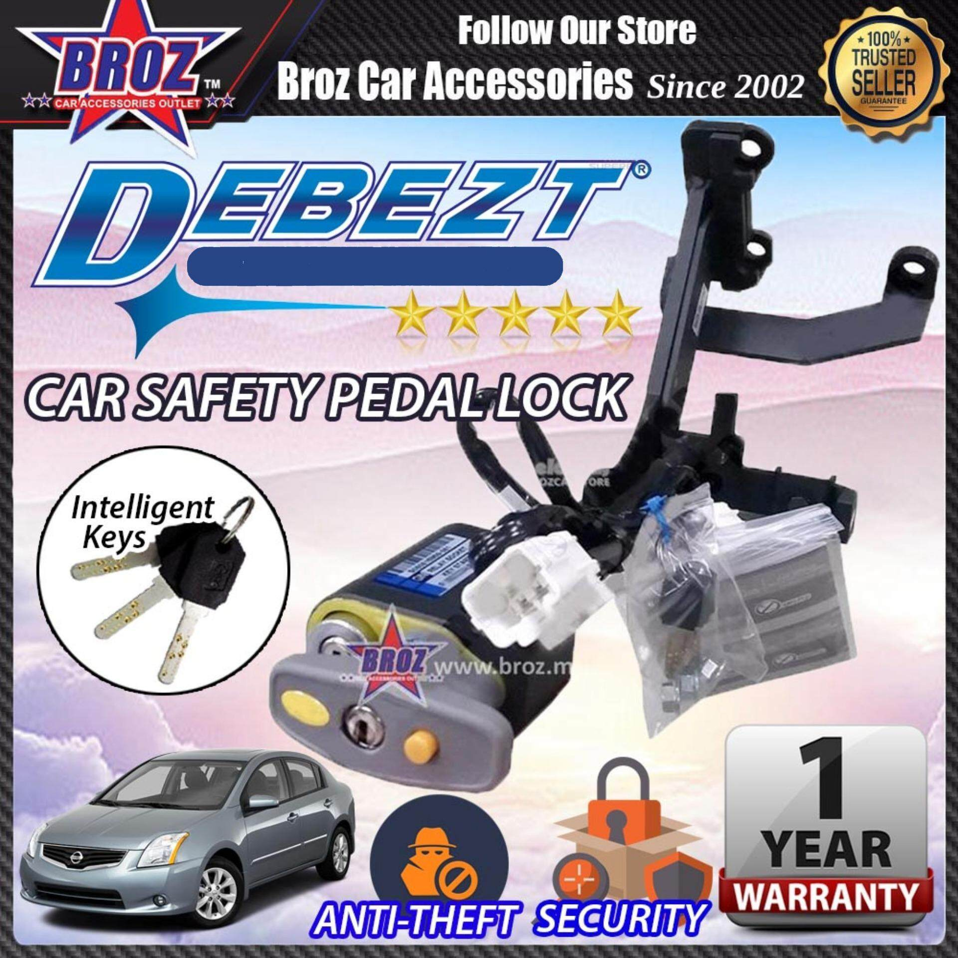 Sentra 2000-2013 Debezt Auto Key Start Anti Theft Double Pedal Lock