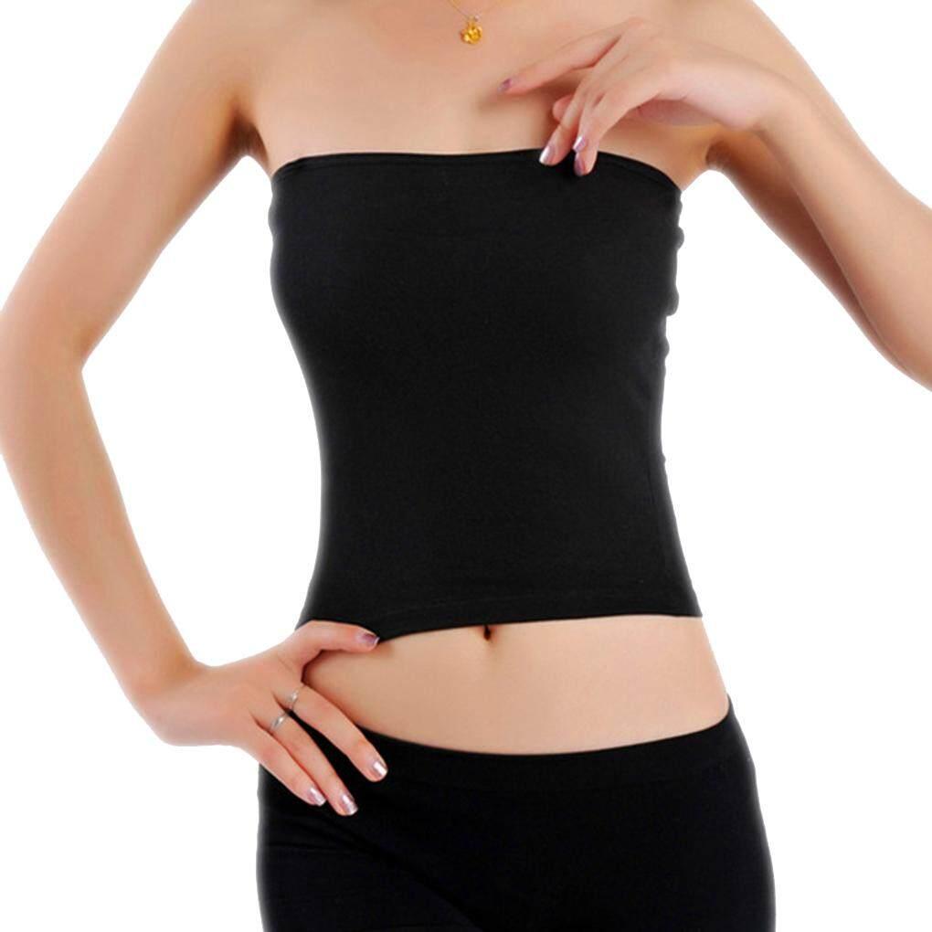 Phụ nữ Dài Mùa Hè Gợi Cảm OFF-Vai Ống Crop Tops Áo Ngực trơn Xe Tăng Yoga Áo Vest
