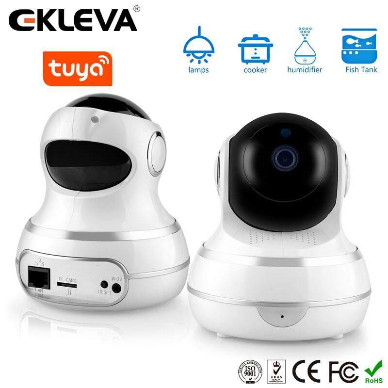 Hình ảnh Camera An Ninh Gia Đình Ekleva IP Không Dây 1080P Hệ Thống Giám Sát Camera 2 Chiều Trò Chuyện Nhìn Trong Đêm Cảm Biến Chuyển Động Trang Chủ Màn Hình Giám Sát Thú Cưng Em Bé Thích Hợp Cho Alexa Và Tuya (IOS & Android)