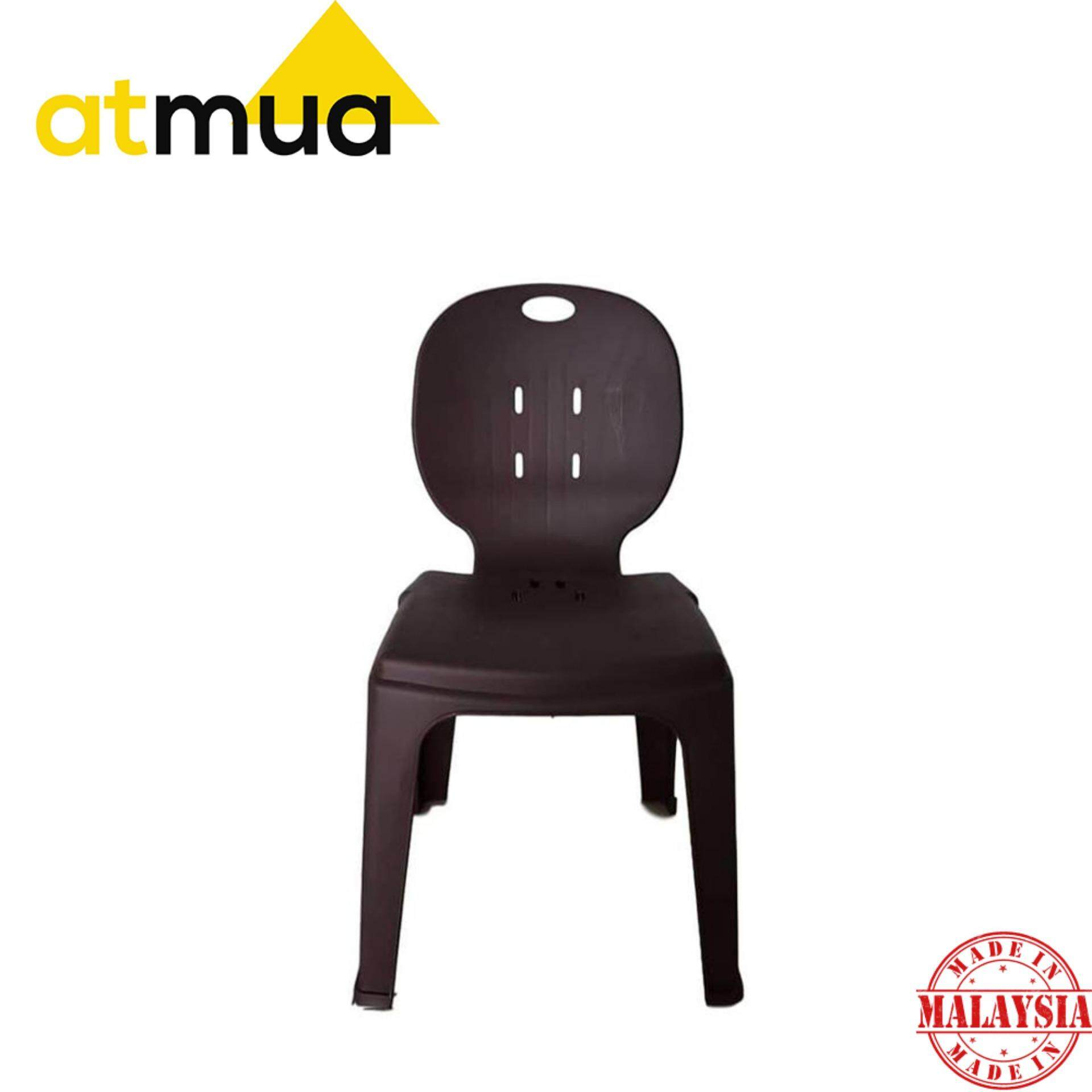 [5 Unit] Atmua Wang Plastic Chair Restaurant / Cafe Chair / Mamak *Strong and Durable* [150kg Capacity