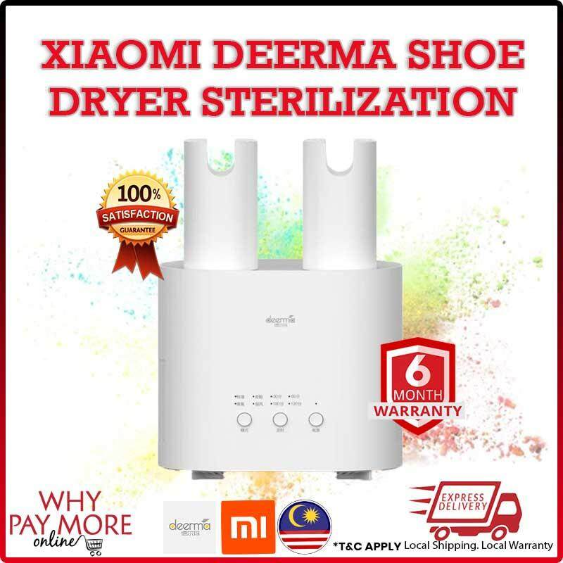 Xiaomi Deerma DEM-HX20 Multi-function Smart Shoes Dryer U-shape Air Outlets Ozone Care Dehumidification 3 in 1 Clothes Dryer