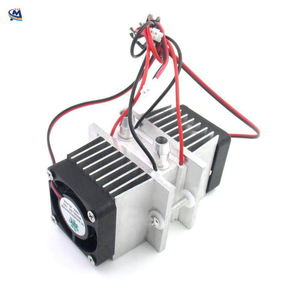 DIY Peltier Semiconductor Refrigeration System Kit,Mini Refrigerator Cooler  12V, Conduction Module + Water Cooling Head + Cooling Fan + TEC1-12706