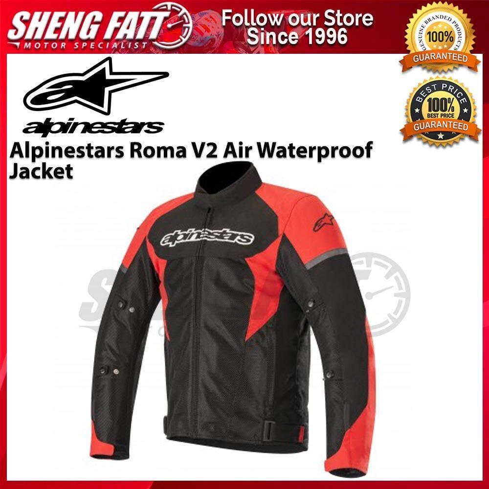 ALPINESTARS ROMA V2 AIR WATERPROOF JACKET (BLACK/RED) - [ORIGINAL]