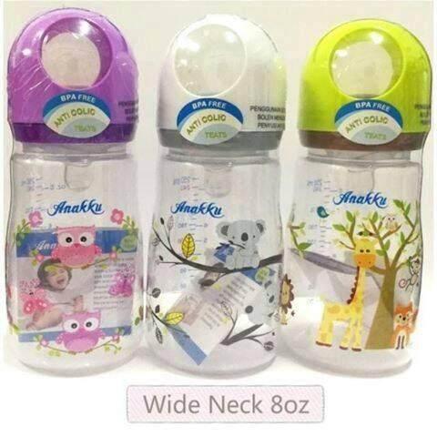 Anakku New Design Wide Neck 8oz PP Bottle