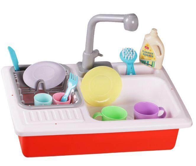 Children Kitchen Sink Playset