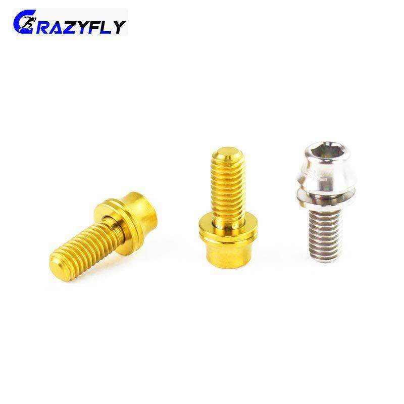 M5x12mm Titanium Bicycle Water Bottle Cage Bolt Bicycle Bottle Holder Screw ^P