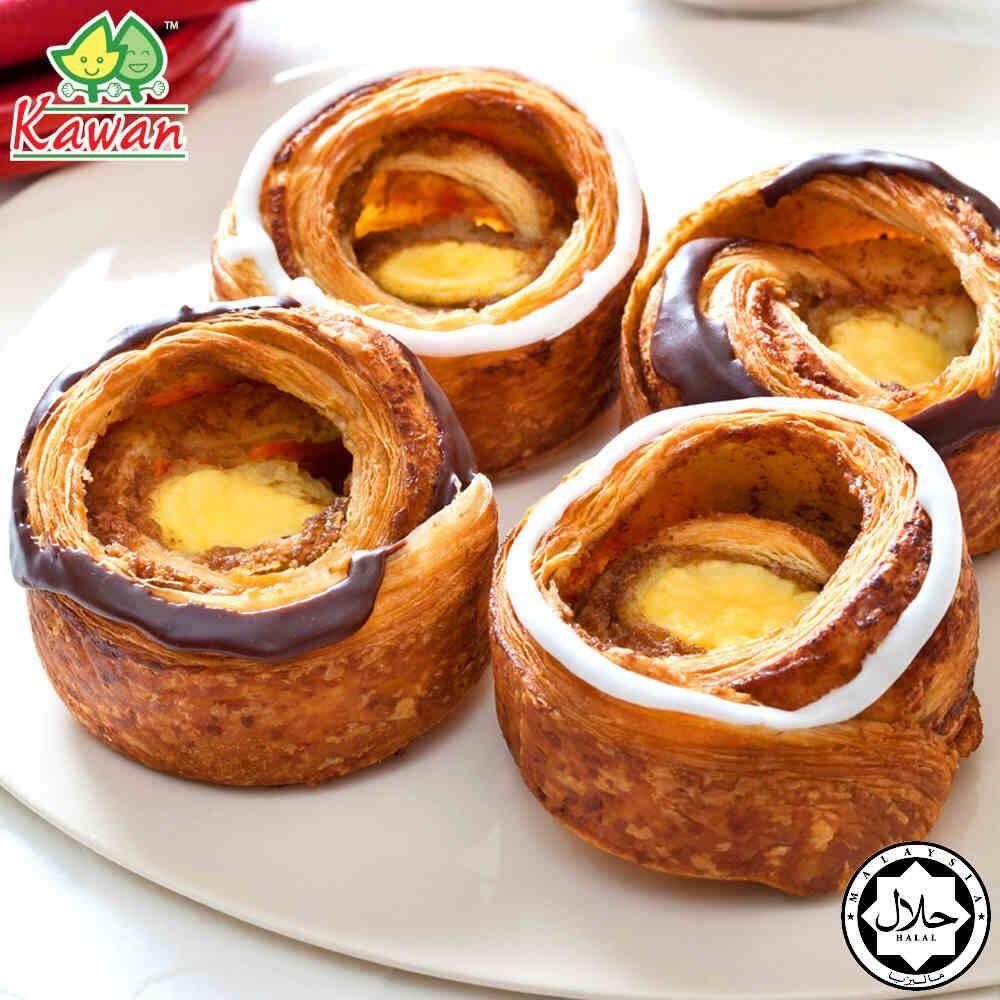"""KAWAN Puff Pastry Square 4"""" (10 pcs - 400g)"""
