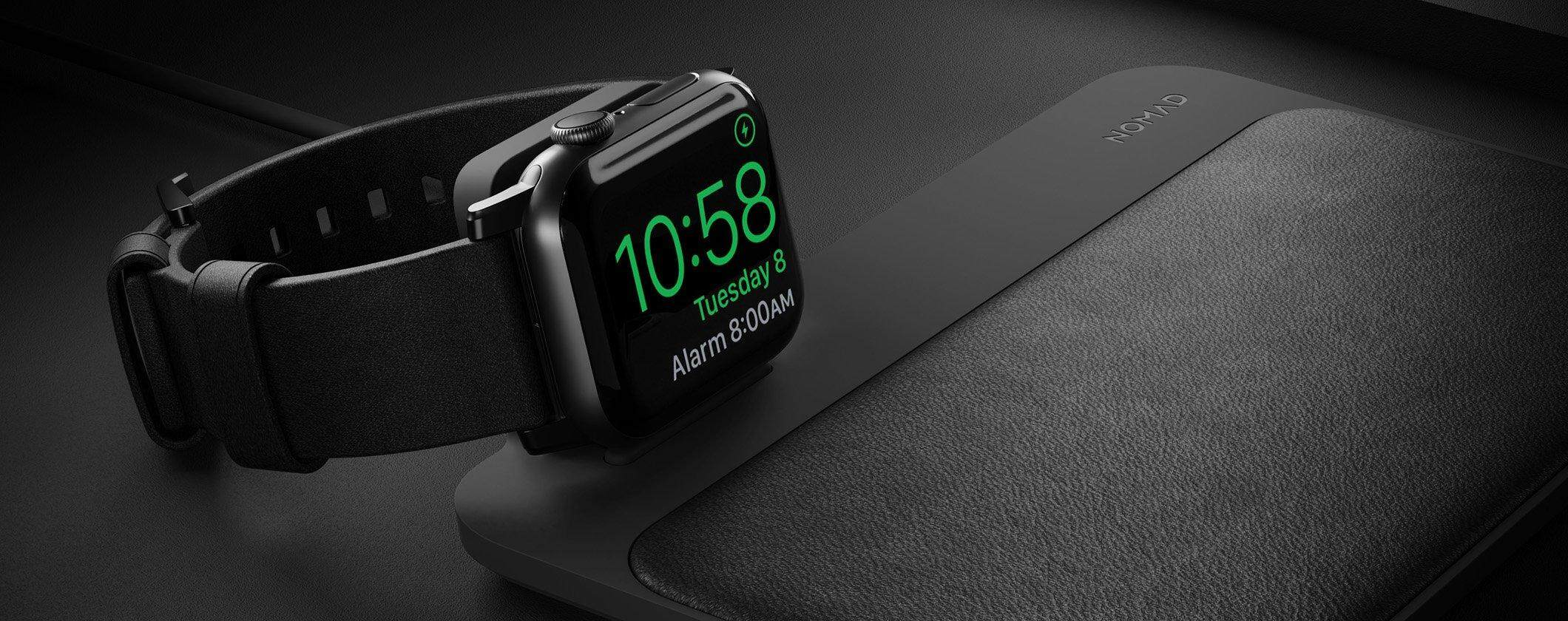 nomad apple watch charger