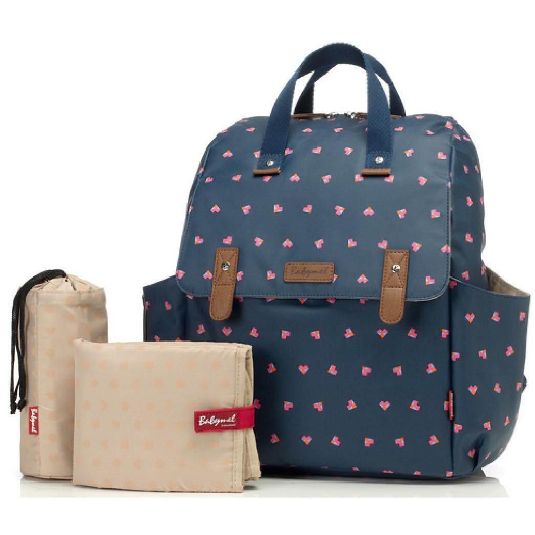 Babymel Robyn Convertible Backpack Diaper Bag (Origami Heart)