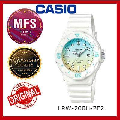 2 YEARS WARRANTY) CASIO ORIGINAL LRW-200H-2E2 SERIES STUDENT & KID'S WATCH