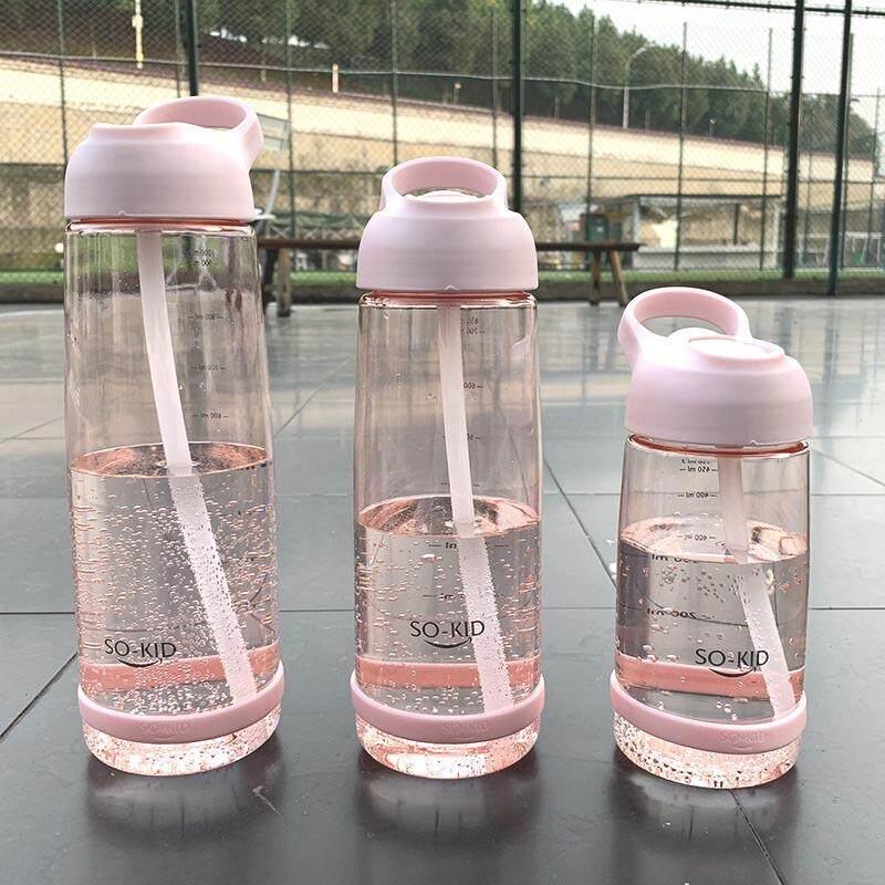 Hình ảnh Dung Tích Lớn 1000 Ml Bình Nước Có Ống Hút Thời Trang Có Tay Cầm Không Chứa BPA Thể Thao Nước Ép Cà Phê Trà Bình Cắm Trại Ngoài Trời Cốc