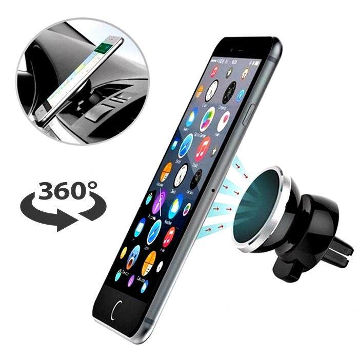 02f0ce5d1f5e60 Car Phone Mount Magnetic Air Vent Cell Phone Holder Stand for ...