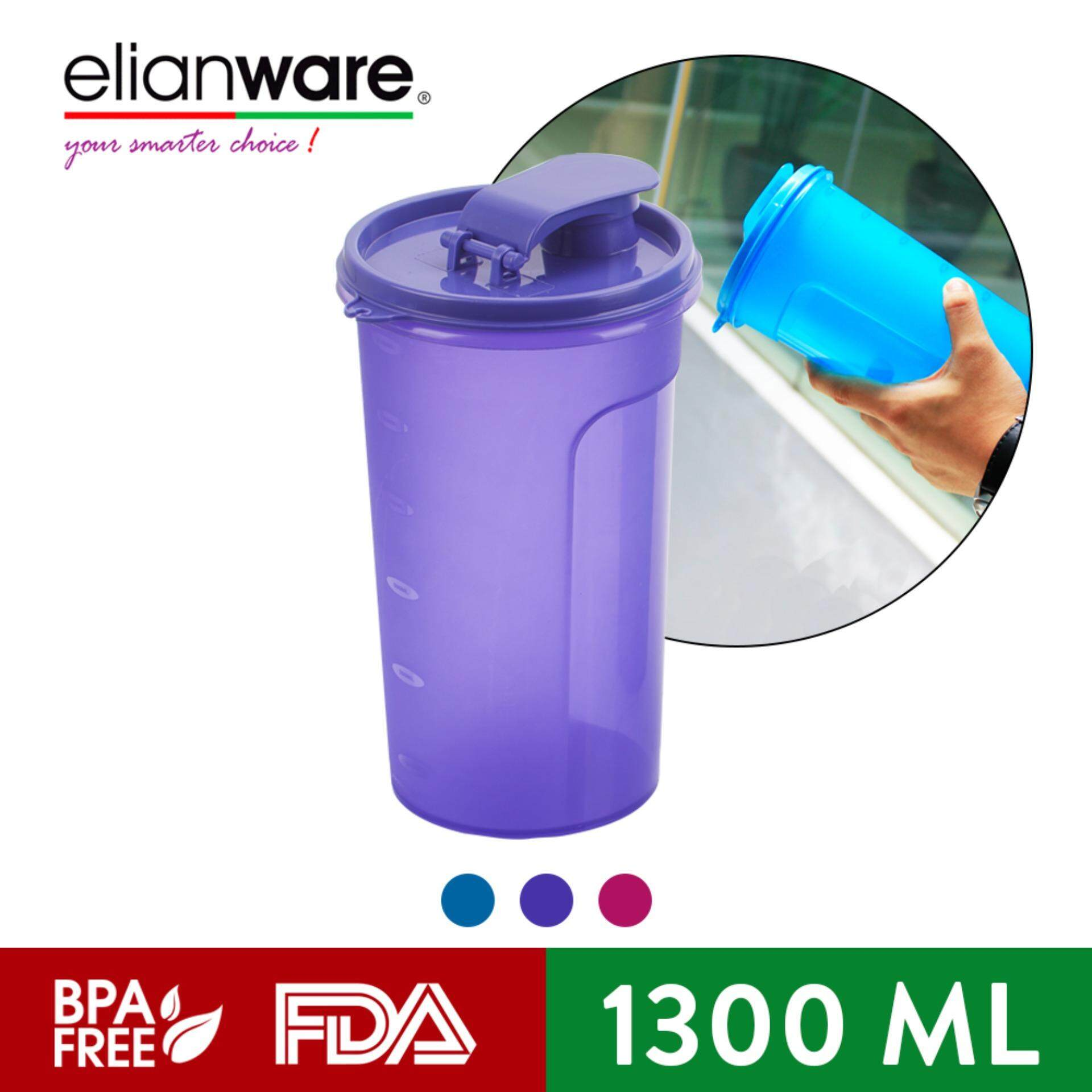 Elianware 1.3 Ltr Large E-Fresh Fridge Home BPA Free Water Bottle