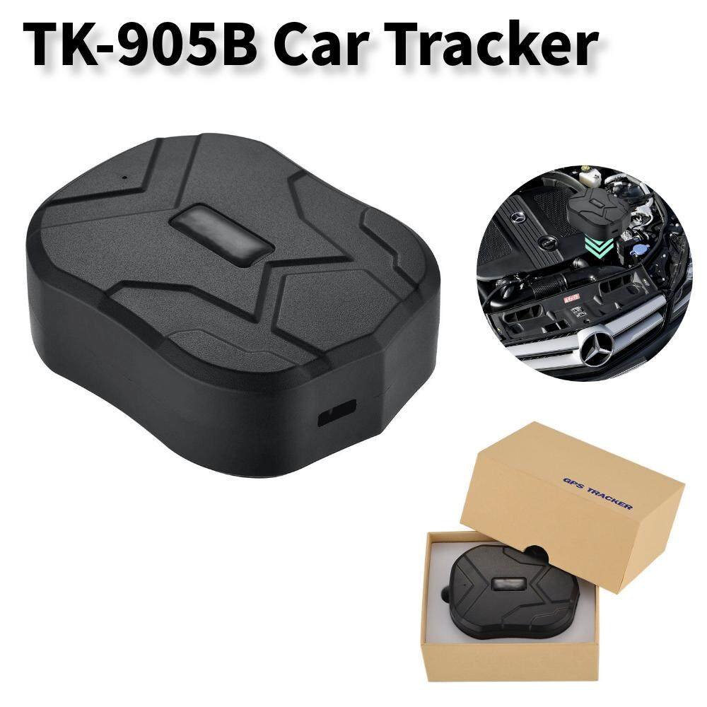 TK-905B Pelacak Mobil Alat Pelacak Kendaraan Tahan Air Realtime GPS GSM GPRS Posisi Standby