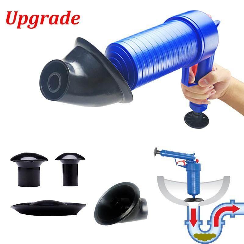 Cleaning Tools - Pressure Pipeline Dredge Device Floor Drain Bathtub Plunger Toilet Inflator