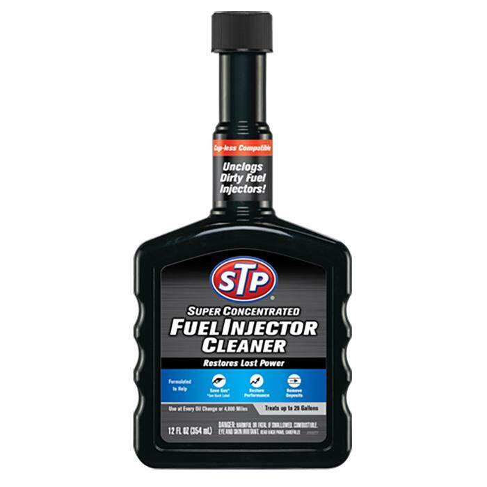 STP SUPER CONCENTRATED FUEL INJECTOR CLEANER-12OZ
