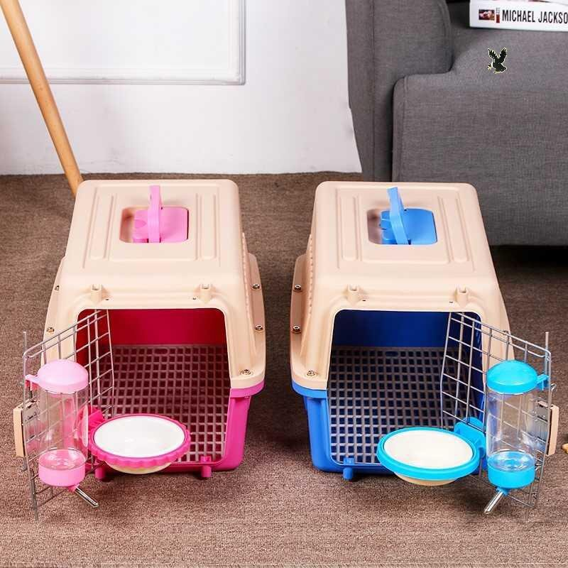 Update Harga Hewan Peliharaan Kotak Saluran Udara Kucing Kotak Cek Ras Anjing Besar Angkutan Udara Kandang Kecil Kelinci Keluar Perjalanan Portabel Terbaru