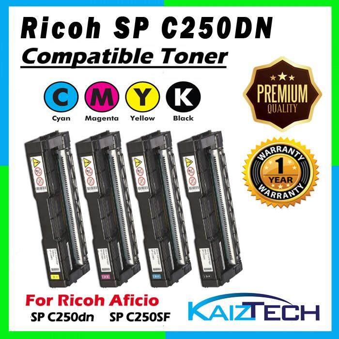 AAA Super Grade Ricoh SP C250DN, SPC 250SF CYMK Set Compatible Toner for SPC250DN , SPC250SF