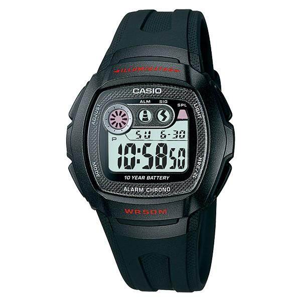 (2 YEARS WARRANTY) CASIO STANDARD DIGITAL W-210 SERIES (10 YEARS BATTERY LIFE)