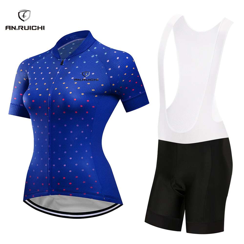 An Ruichi Summer Cycling Jersey Set Bicycle Clothing Breathabl