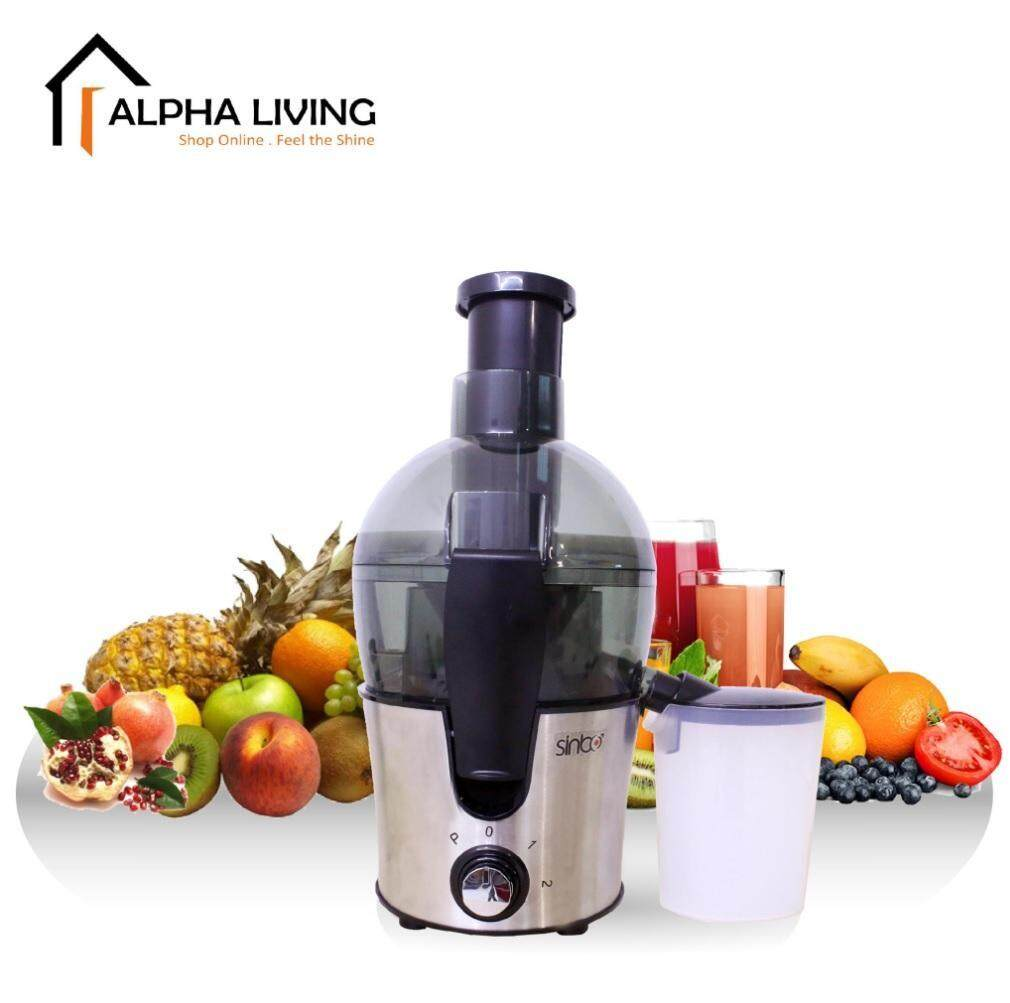 Alpha Living KEA0235 Multipurpose Juicer for Fruits and Vegetables with Pulp Filter Container 450W Power
