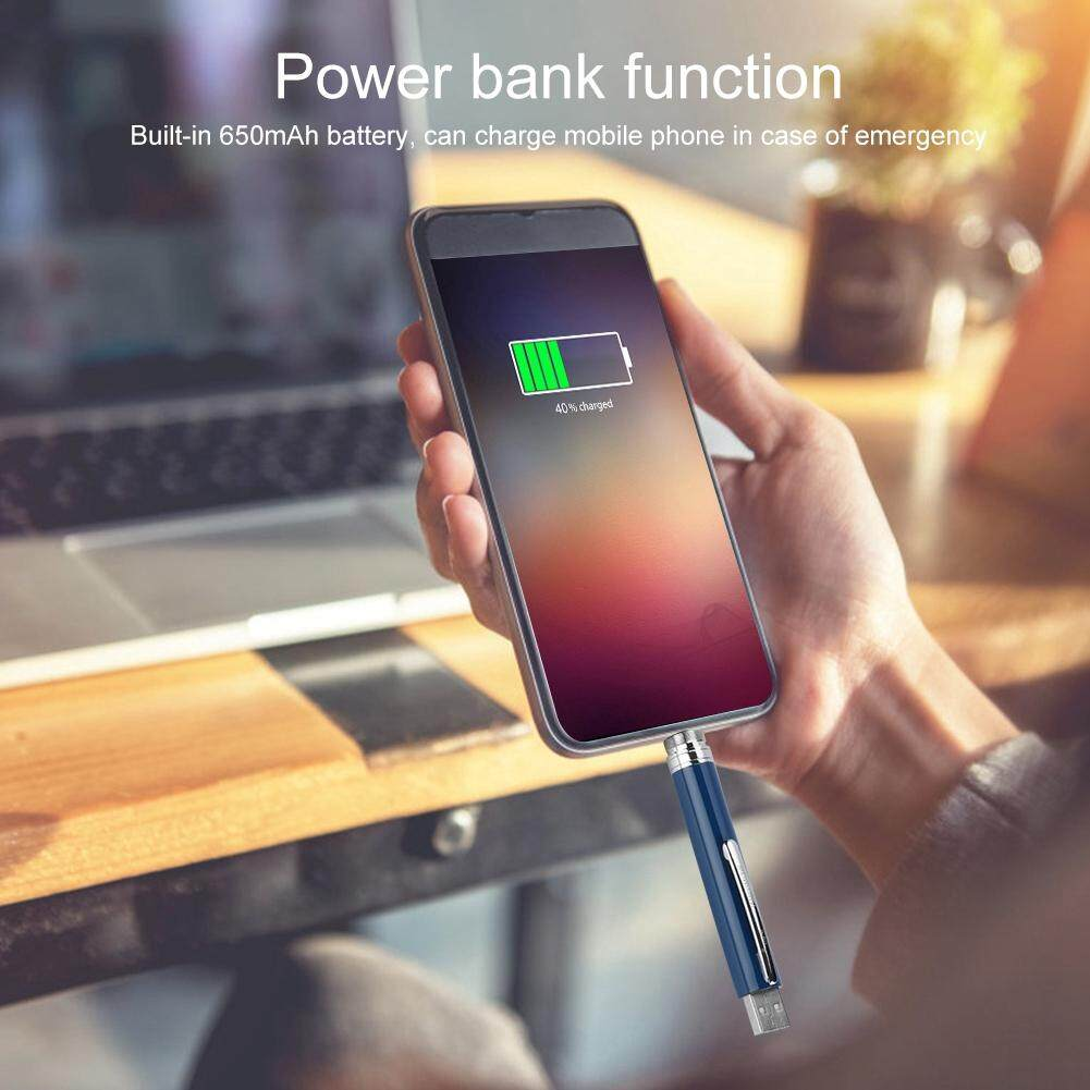 Printers - Multi-function Charging Pen Power Bank U Pen USB - [BLUE TYPE-C / RED MICRO USB / GRAY MICRO USB]