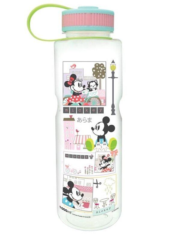 Disney Mickey Retro Tritan Water Bottle 1000ml