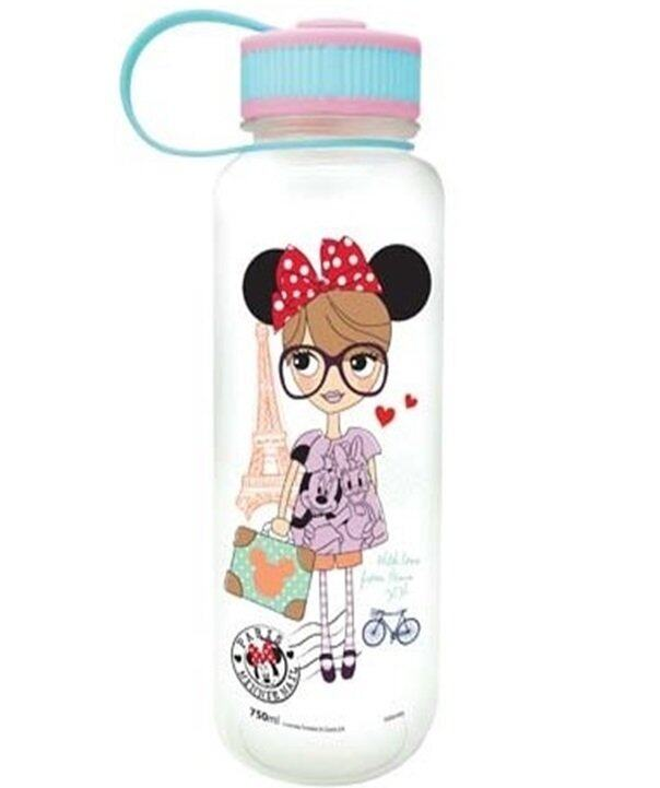 Disney Minnie 750ml Tritan Water Bottle