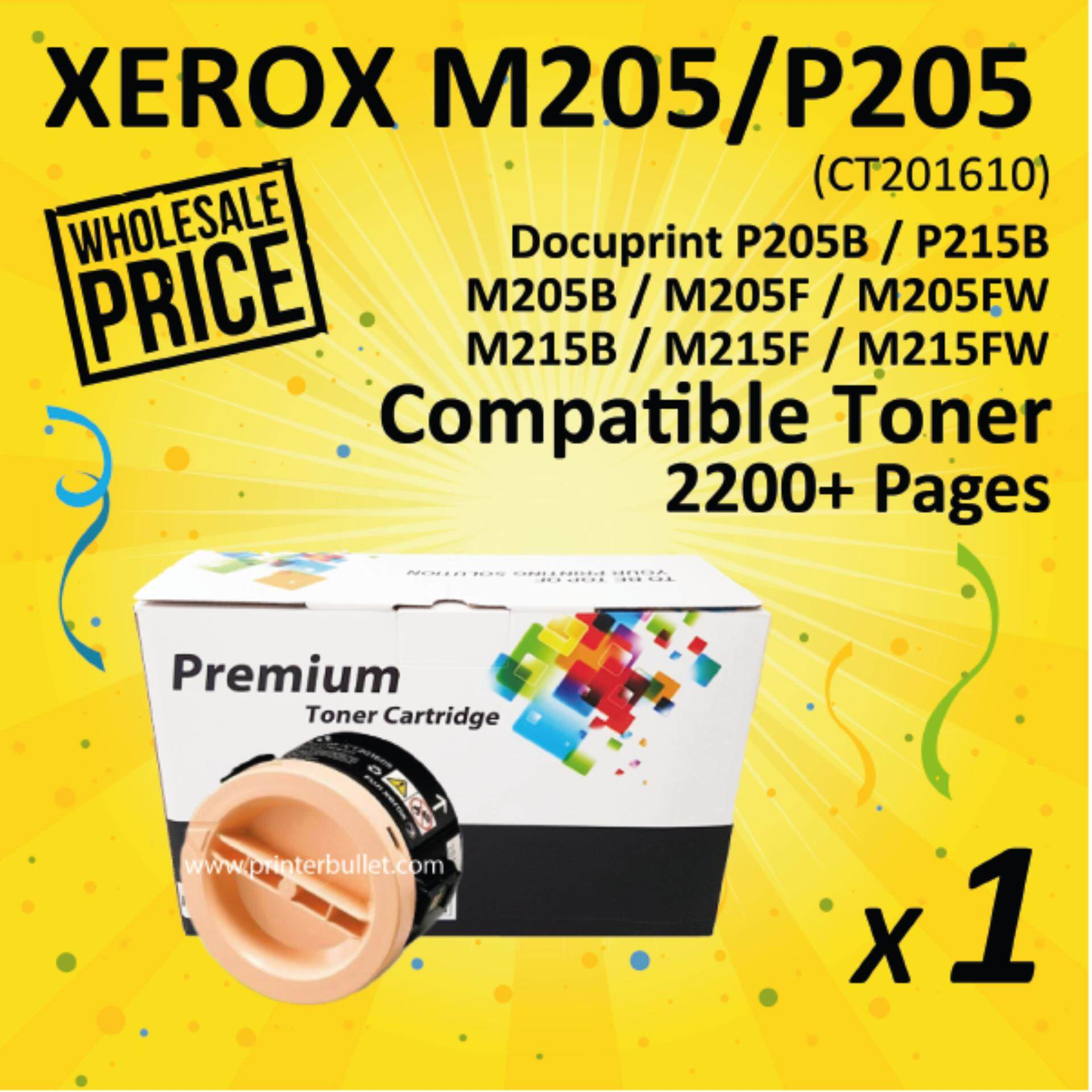 Fuji Xerox P205 / M205 / M215 / M205b / M205f / M205fw / M205df / M215b / M215fw / P205b / P215b / CT201610 High Quality Compatible Toner Cartridge