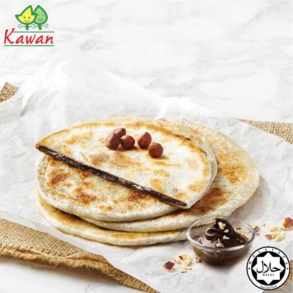 KAWAN Hazelnut Chocolate Paratha (3pcs - 180g)