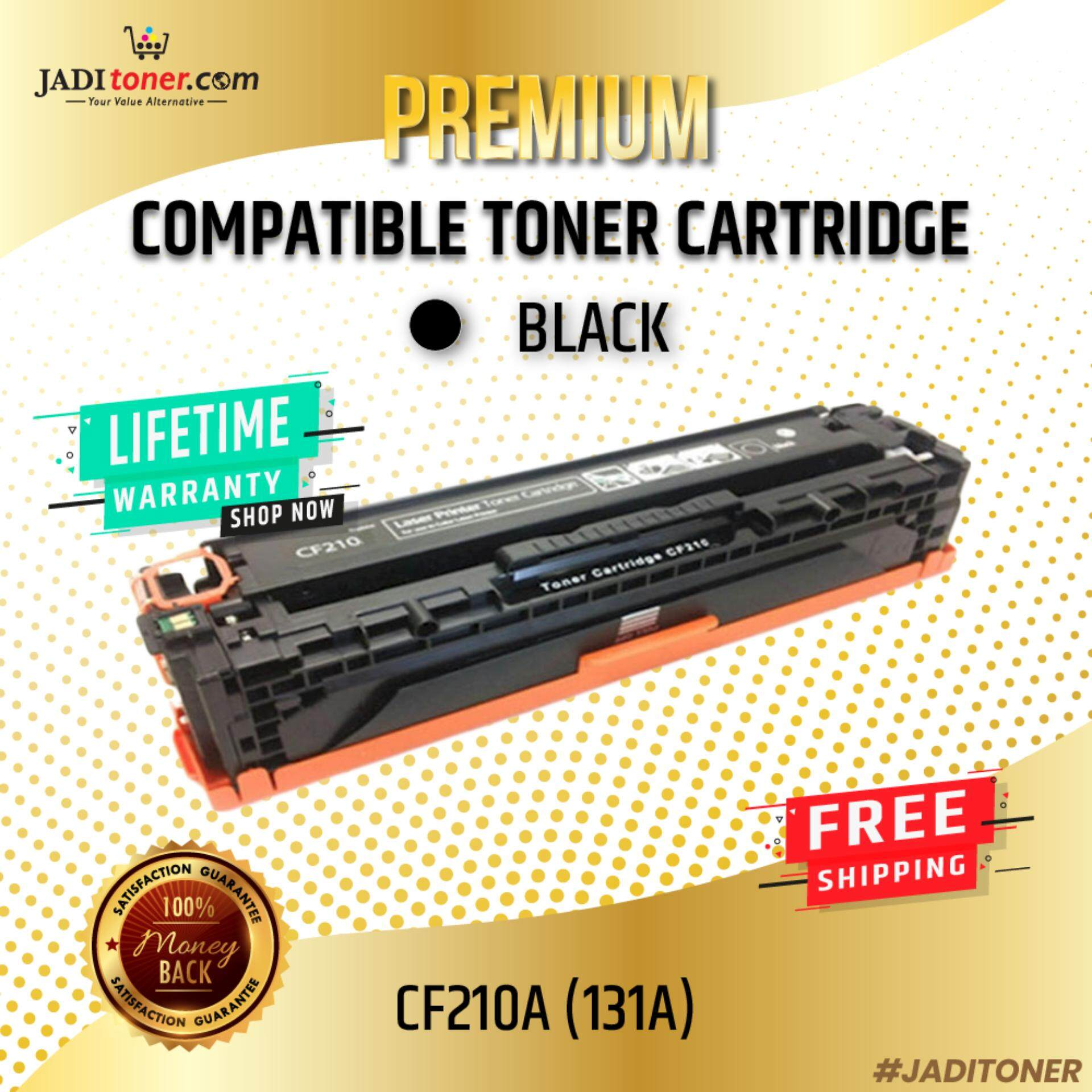 Compatible CF210A 131A Black Laser Toner Cartridge For HP Color LaserJet Pro 200 M251nw / HP Color LaserJet Pro 200 M276n / M251 / M276 / HP CF210 210A