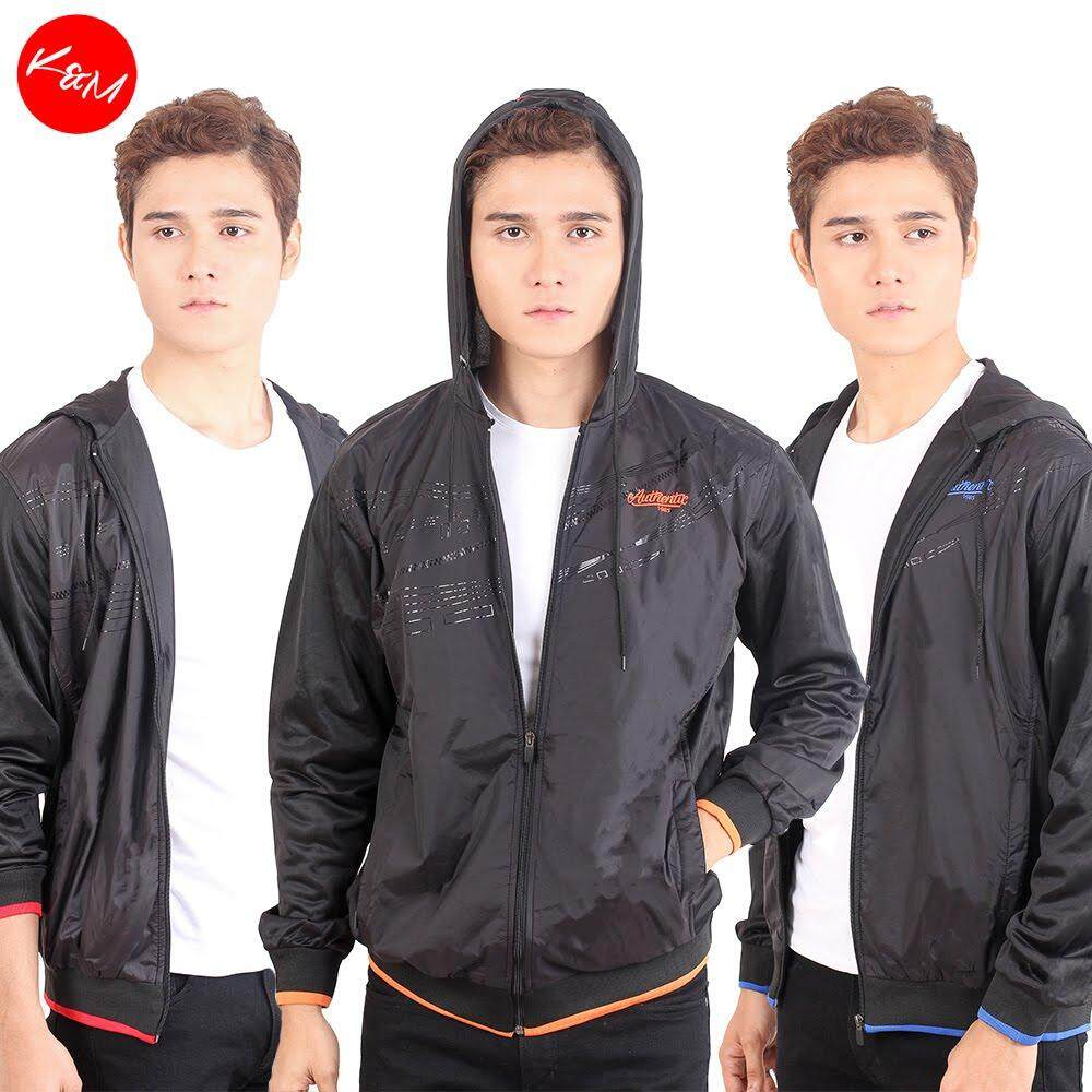 KM Men Authentic Track Hoodie [M12476]
