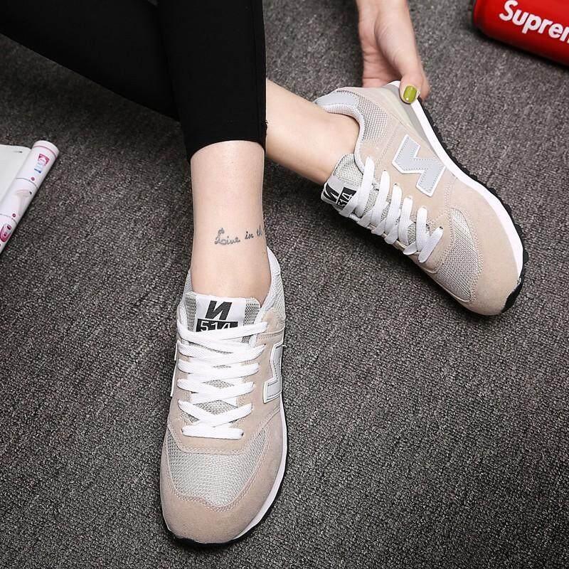 นครสวรรค์ แรงบันดาลใจจาก New Balance ผู้หญิงแฟชั่นใหม่รองเท้าผ้าใบลำลองวิ่งกีฬารองเท้า