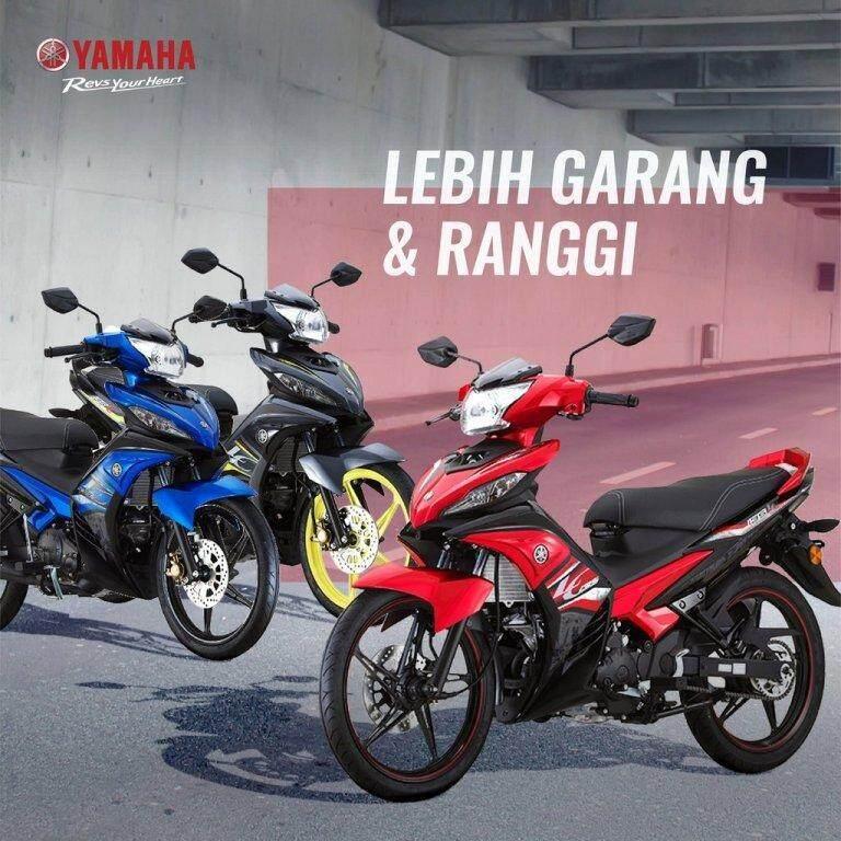 Yamaha 135LC Motorcycle