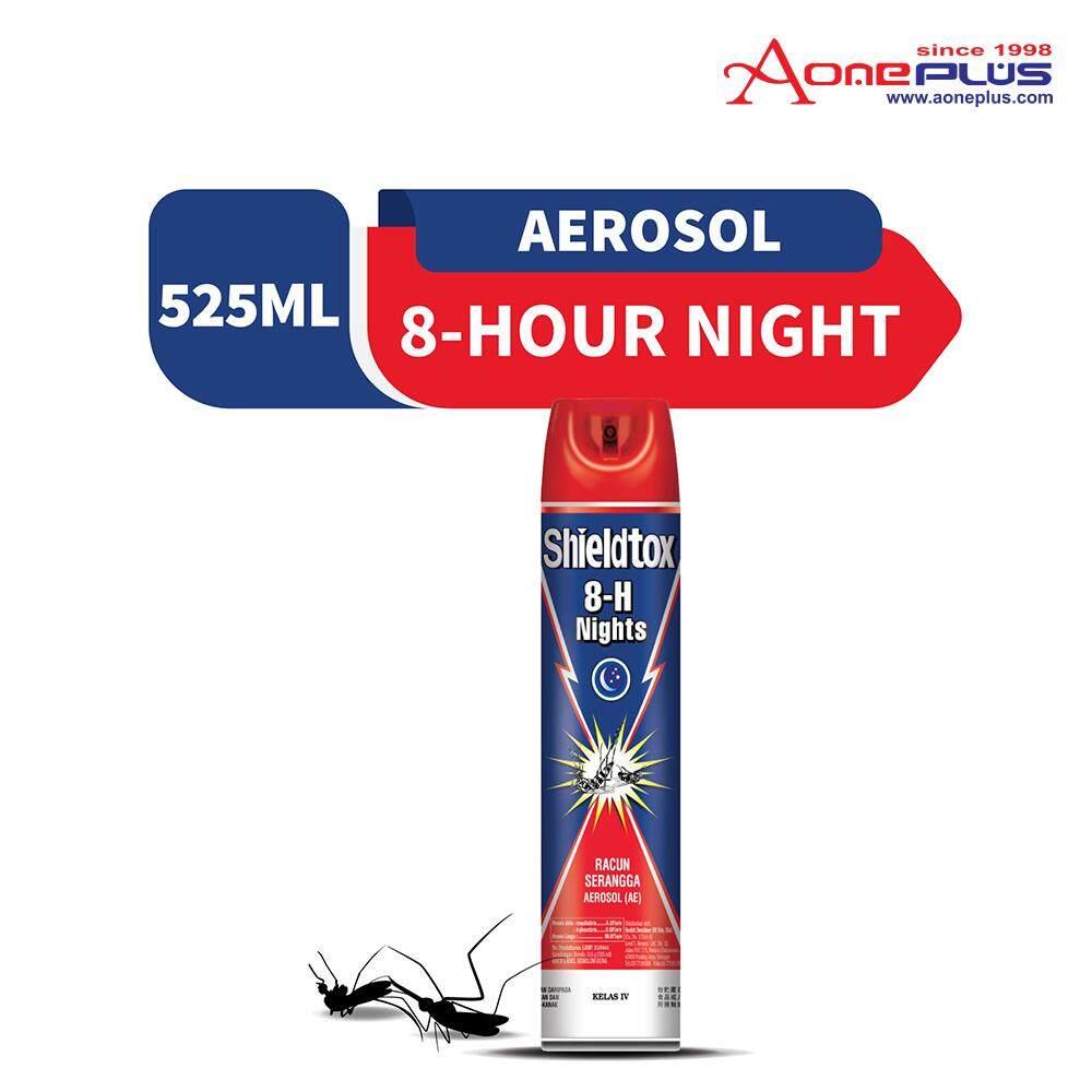 Shieldtox 8-H Nights Mosquito Aerosol 525ml