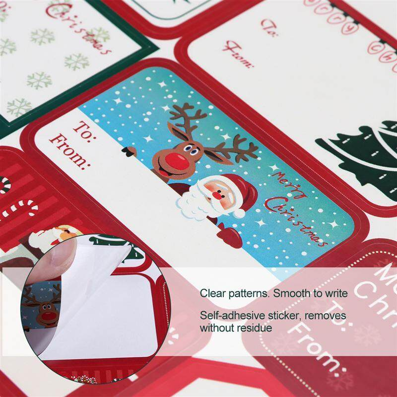 Goodie Bag Tags Christmas Gift Tags 274 Xmas Stickers Personalized Gift Tags Snowman gift tag 24 STICKERS Christmas Gift Sticker