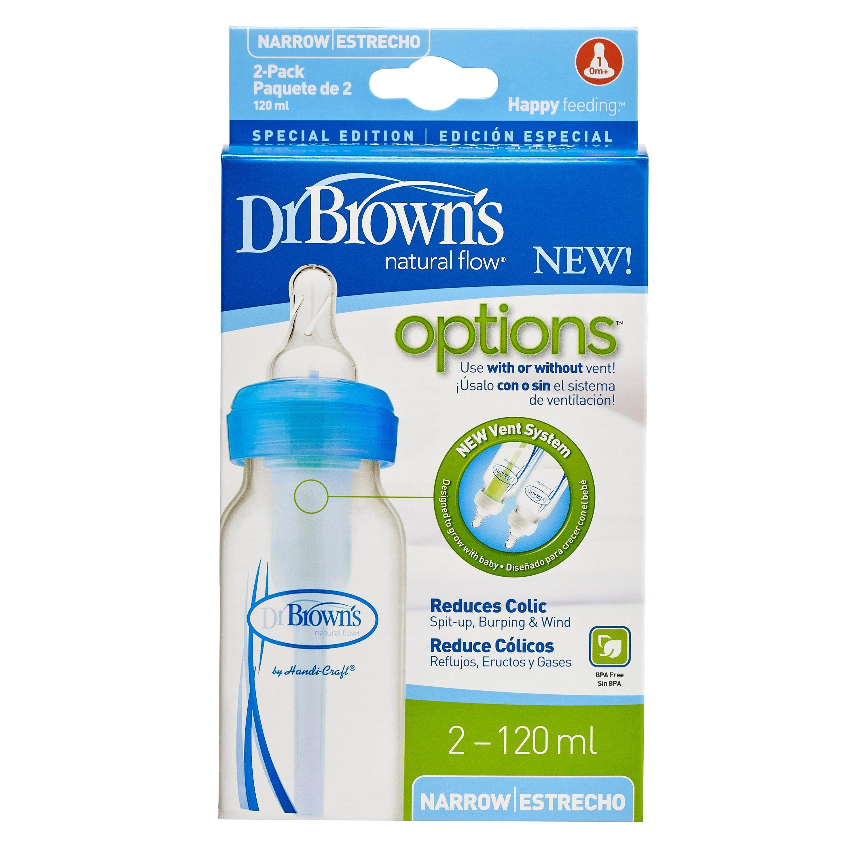 Dr Brown's - 120ml PP Options Bottle 2 Pack